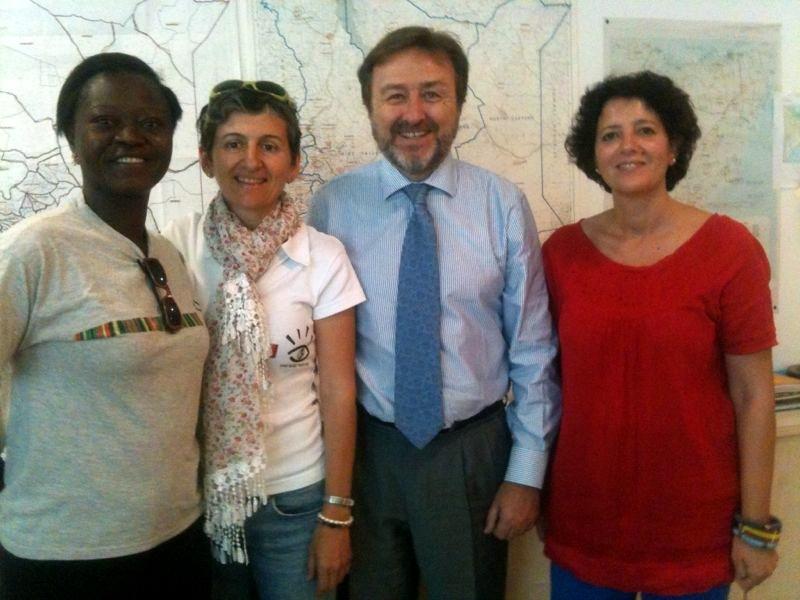 Reunión de VSF con Embajador de España en Kenia