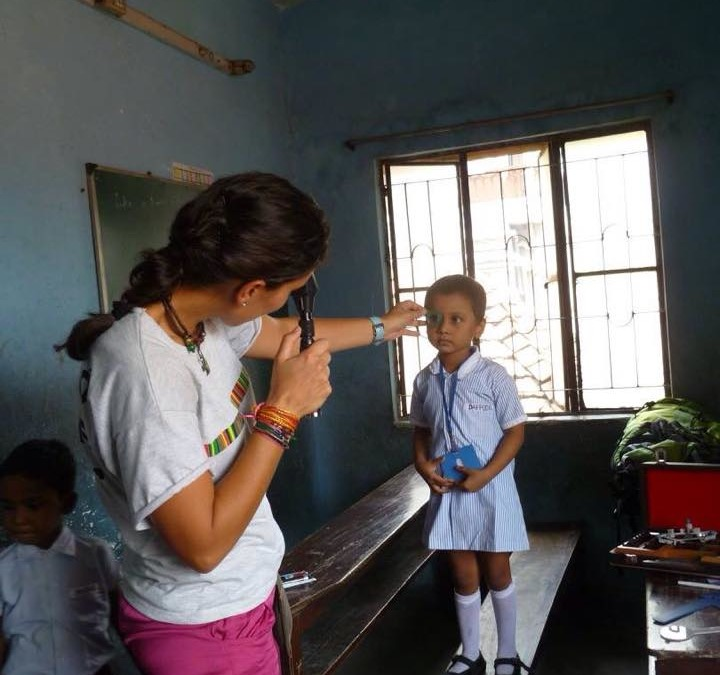 Silvia Tablada en Calcuta 2015