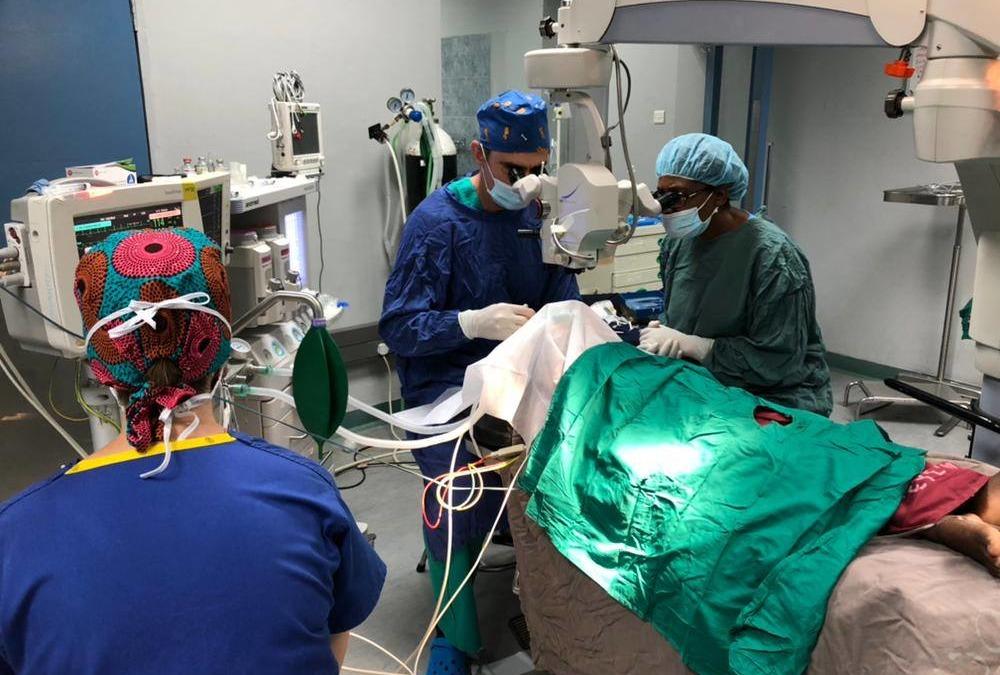 Proyecto cirugía de Cataratas – Zambia 2018