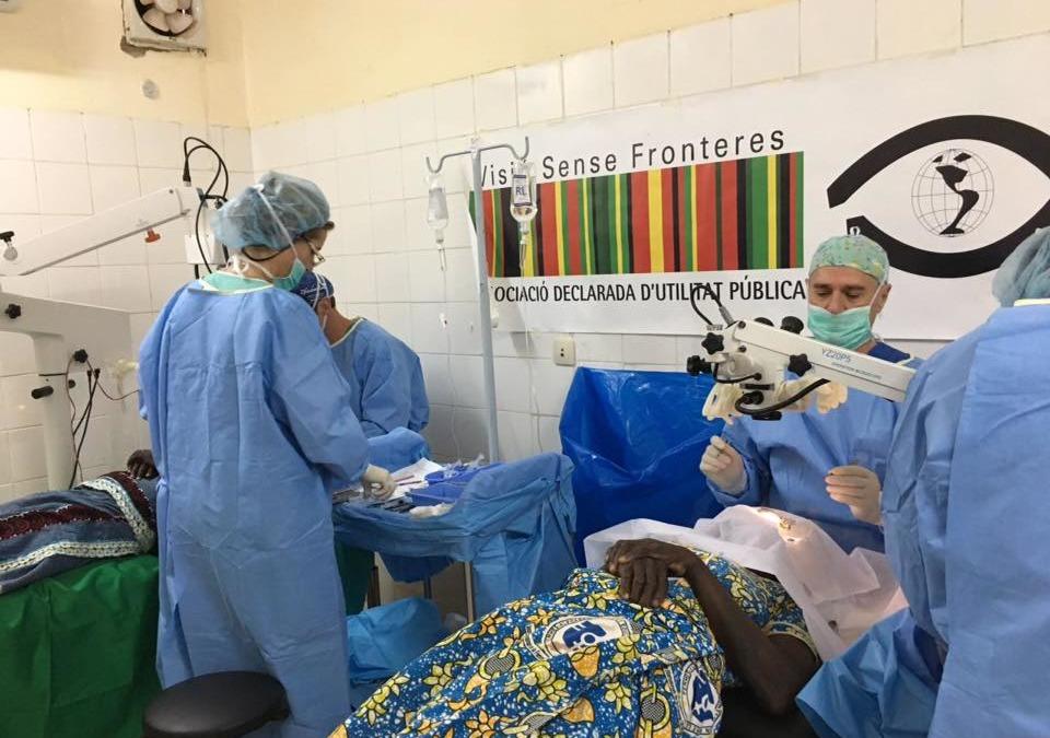 Proyecto cirugía de cataratas – Burkina Faso 2018
