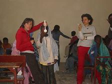 Toma de agudeza visual, campaña Mauritania